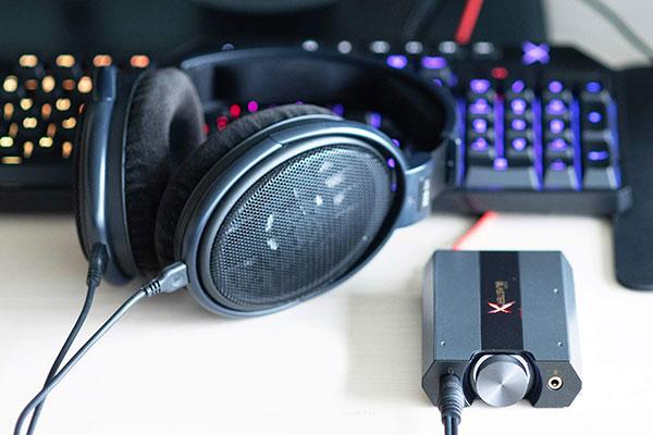 Sound BlasterX G6 Hi-Res 130dB 32bit/384kHz Gaming DAC - digital audio