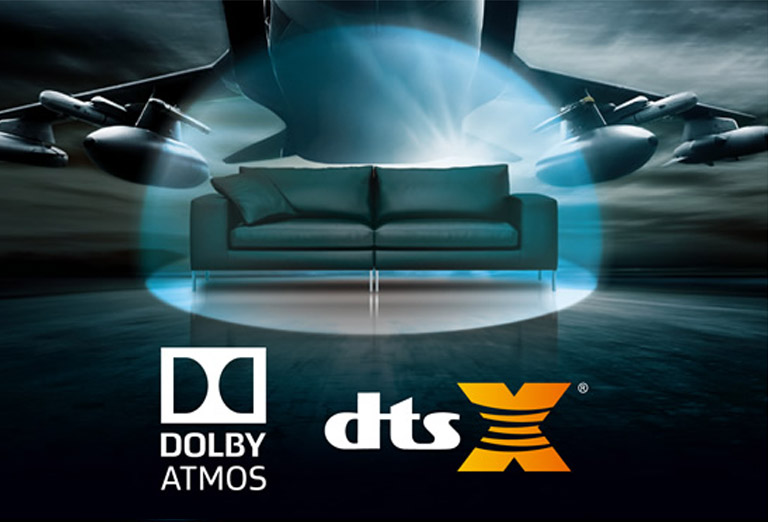 What are Dolby Atmos and DTS:X?