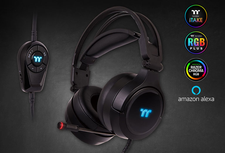 Thermaltake RIING Pro RGB 7.1 Gaming Headset