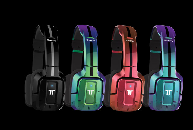 Swarm Wireless Mobile Headset in 4 colors